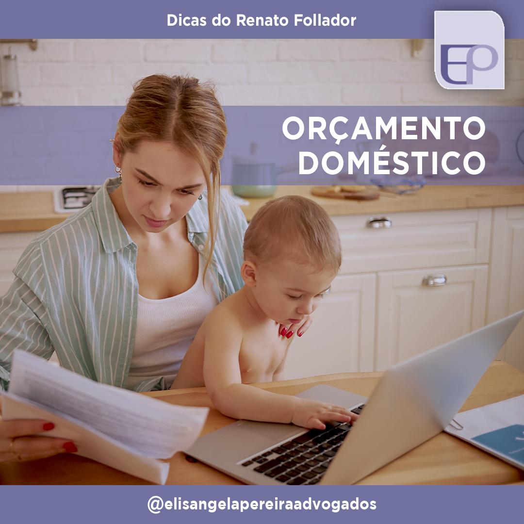 Orçamento doméstico – Dicas do Renato Follador.